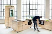 Moveable furniture for adaptable workspaces